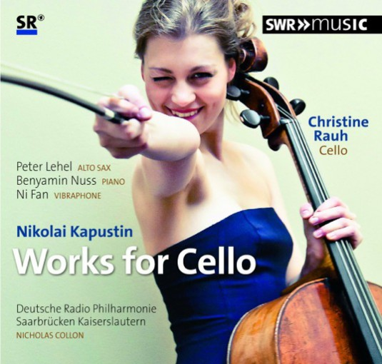 "Christine's new CD ""Nikolai Kapustin - Works for Cello"""